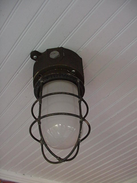 Salvaged Exterior Lighting Deck